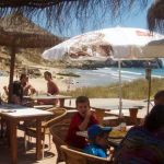 Zavial Beach Bar Restaurant  Quinta Al Gharb 5 private Bungalows