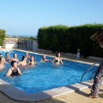 Water Zumba Ingrina Mar  Nature Beach Resort Quinta Al Gharb