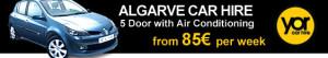 YOR car rental Algarve airport faro car hire mietwagen