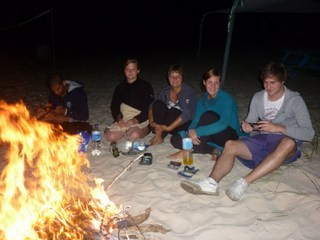 Beach Fire Workshop Blue Green Algarve