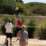 Volleyball at Sponsor Blue Green Workshops Algarve