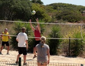 Volleyball at Sponsor Blue Green Workshops Algarve