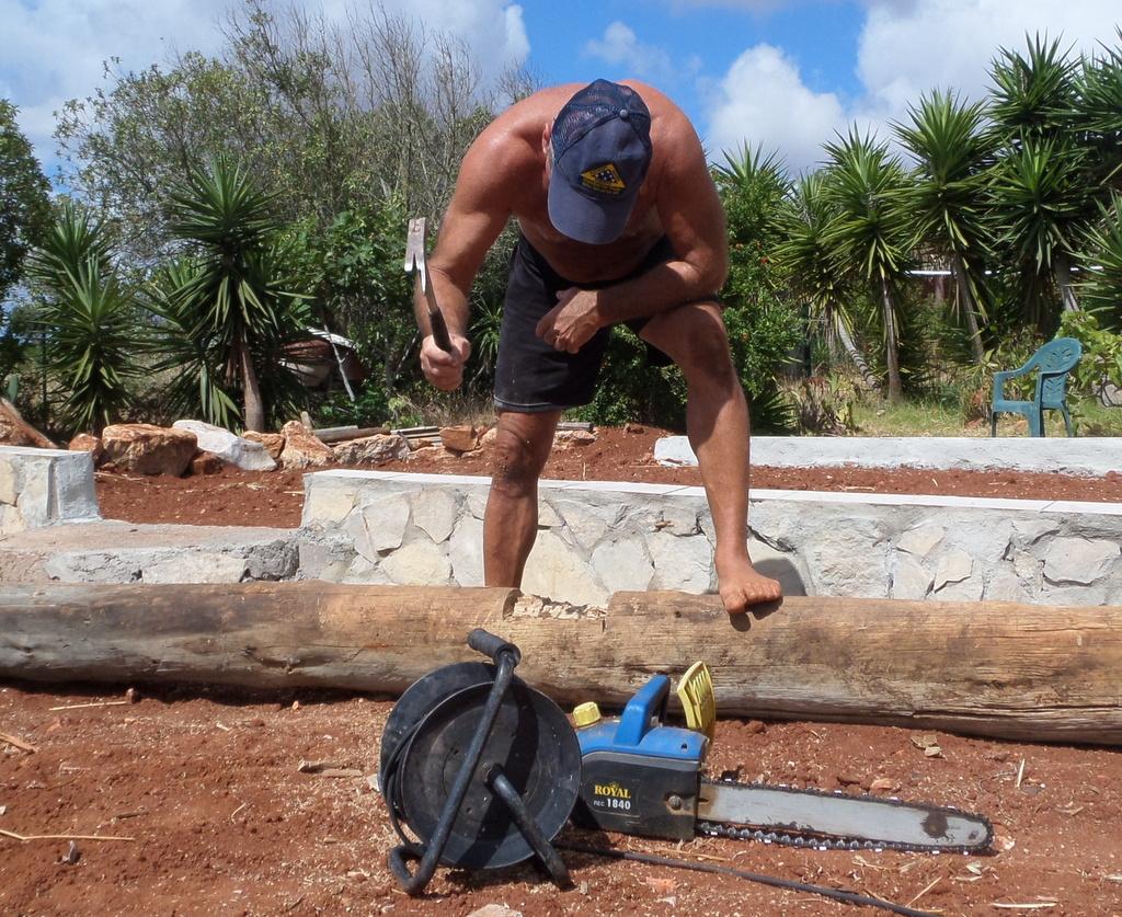 Wood work at Blue Green Workshops Algarve