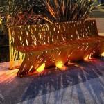future shining bench Blue Green Resort